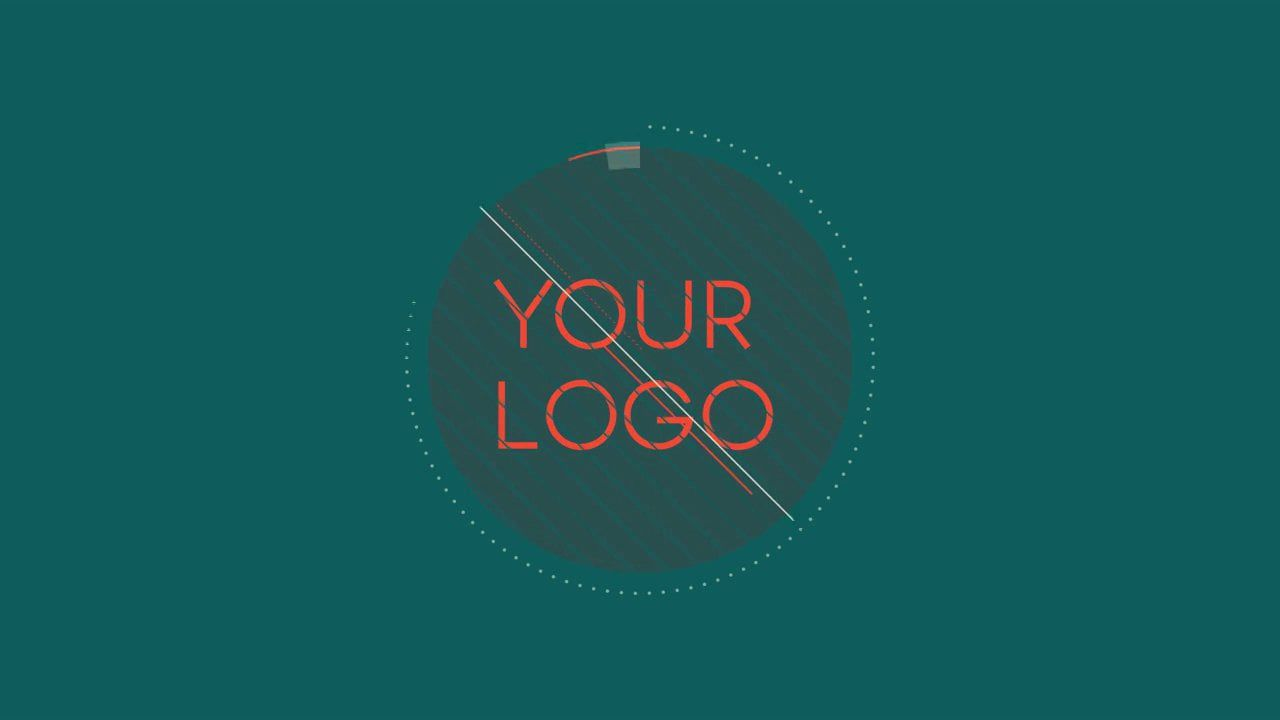 free after effects template 2d logo introduction