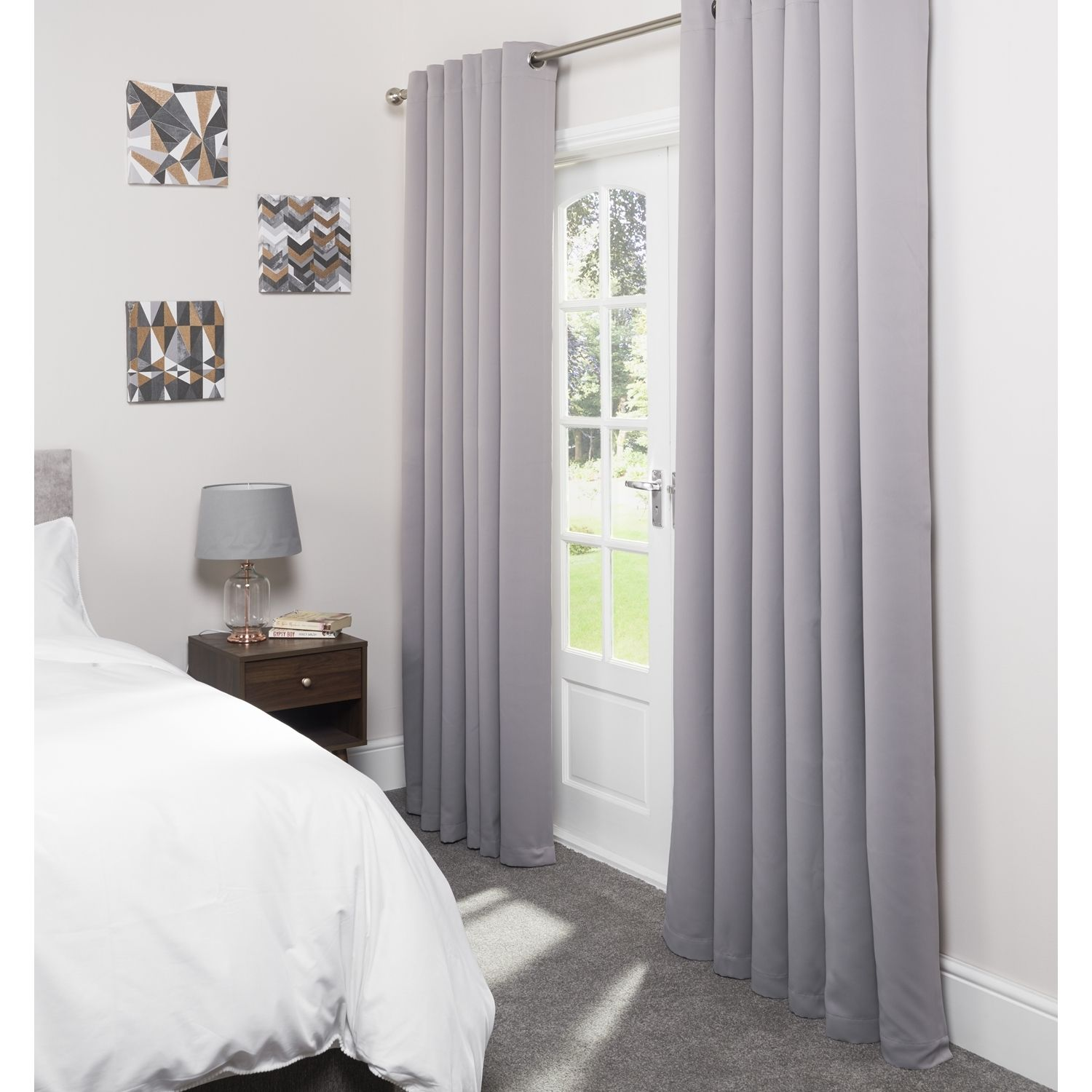 Eclipse Blackout Grey Curtains (With images) Curtains