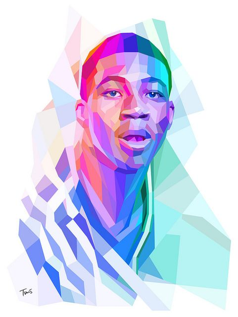 Giannis Antetokounmpo and all the colors of Greece NBA
