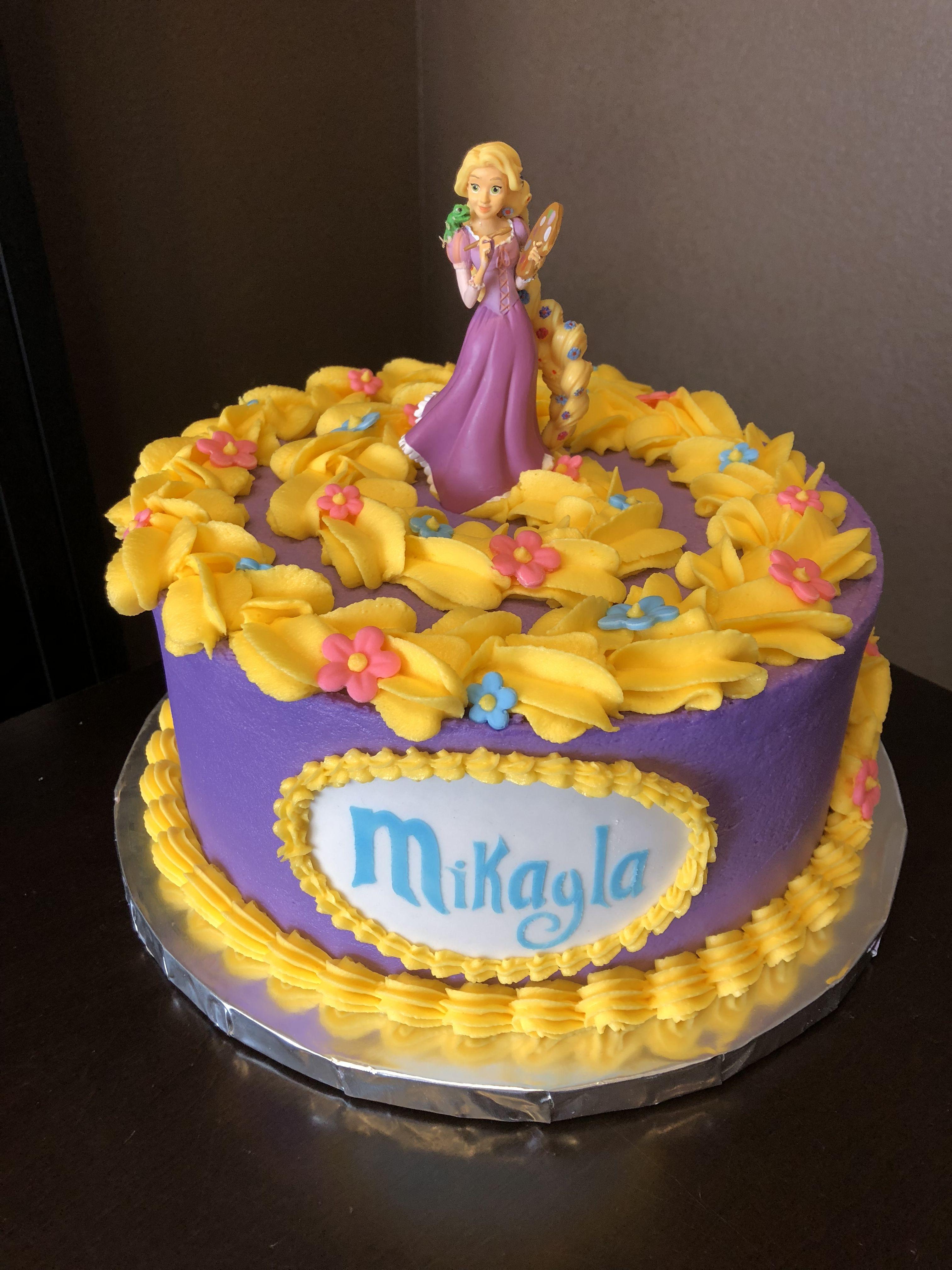 Magnificent Tangled Cake Rapunzel Cake Rapunzel Birthday Cake Rapunzel Funny Birthday Cards Online Alyptdamsfinfo