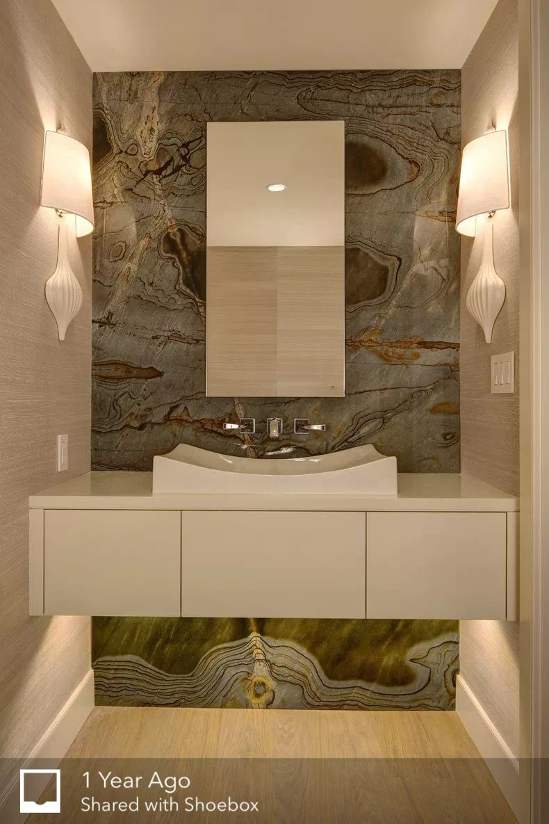 Dining Room Wash Basin Area Bathrooms Remodel Modern Powder Rooms