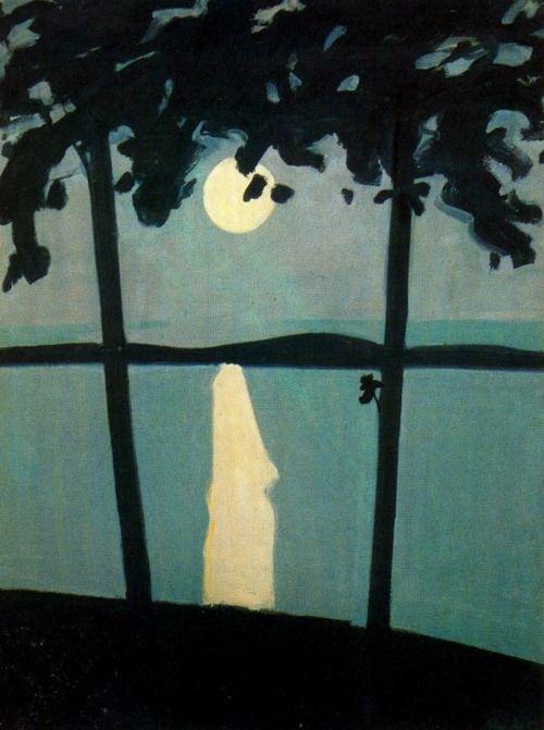 Luna Park, 1960, Alex Katz, né le 24 juillet 1927 à New York, est un artiste figuratif américain associé au mouvement du pop art. Il est particulièrement connu pour ses peintures, sculptures et impressions