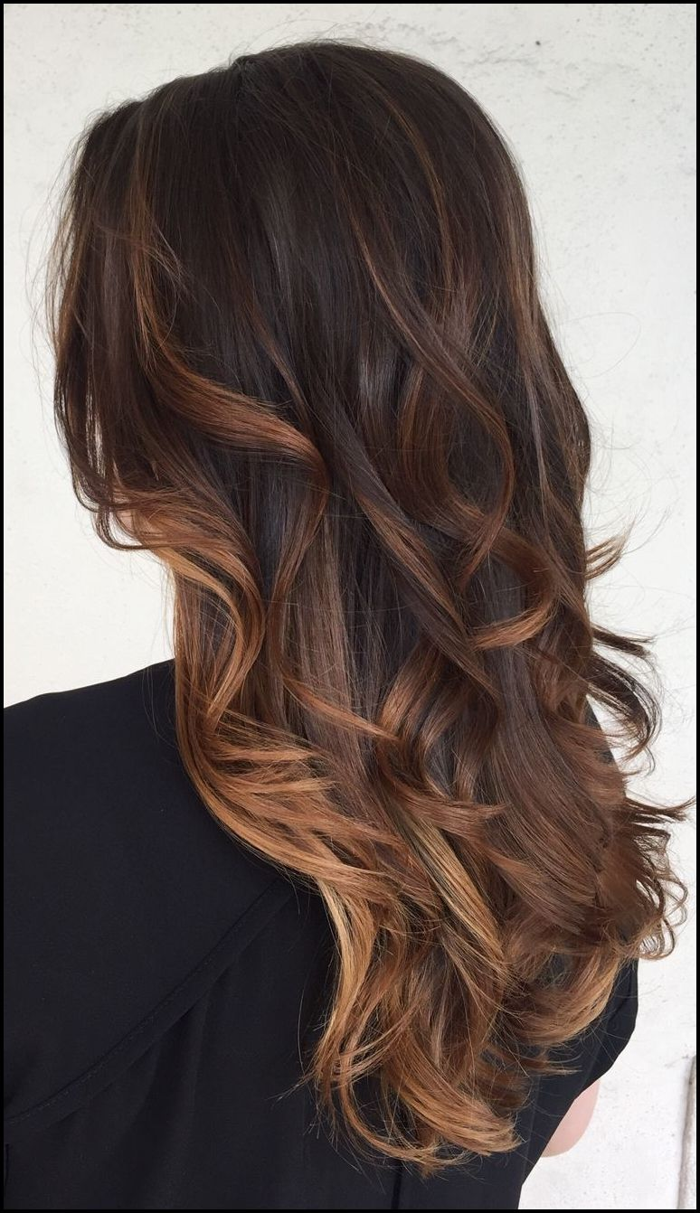 Brown And Caramel Balayage Ombre By Brittanybyrdhair Tresses