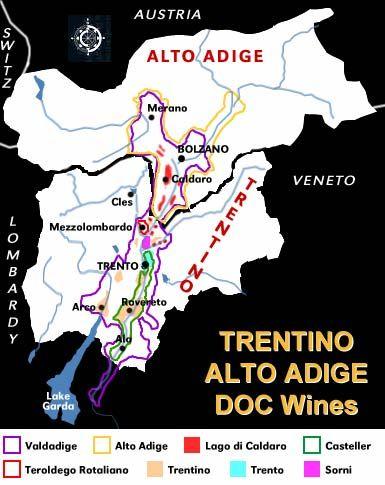 Trentino Alto Adige Wine Region Italy Pinterest Wine White