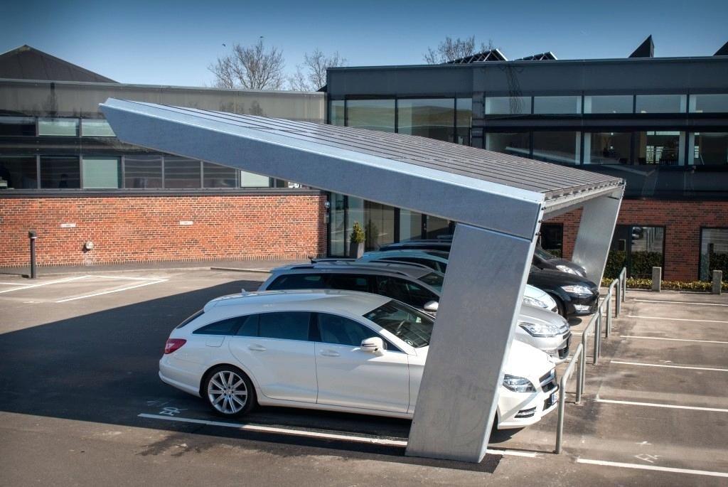 Carports Constructions Long Span Commercial Solar Parking Find Your Carport With Carports Commercial Sola Disenos De Cochera Techo Para Cochera Garaje Exterior