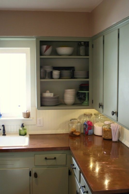 Exceptionnel Does Your Kitchen Counter Need A Little Makeover? Check Out These DIY Copper  Counters, From Remodelaholic.