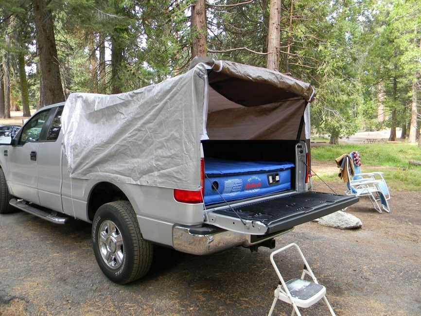homemade truck bed tents & homemade truck bed tents | Pickup Truck Camping | Pinterest ...
