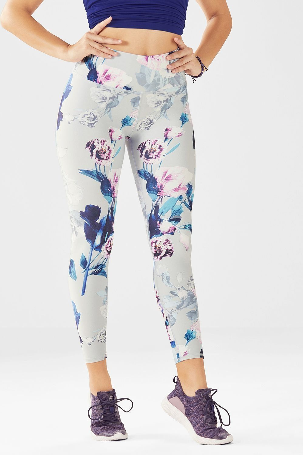 0334615fa72ed High-Waisted Printed PowerHold® 7/8 in 2019 | The Best Fabletics ...
