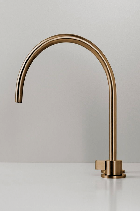 Photo of Copper mixer from byCOCOON.com | Copper tap | Designer bathroom | Luxury …