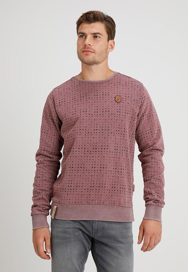 Sweatshirt heritage bordeaux melange