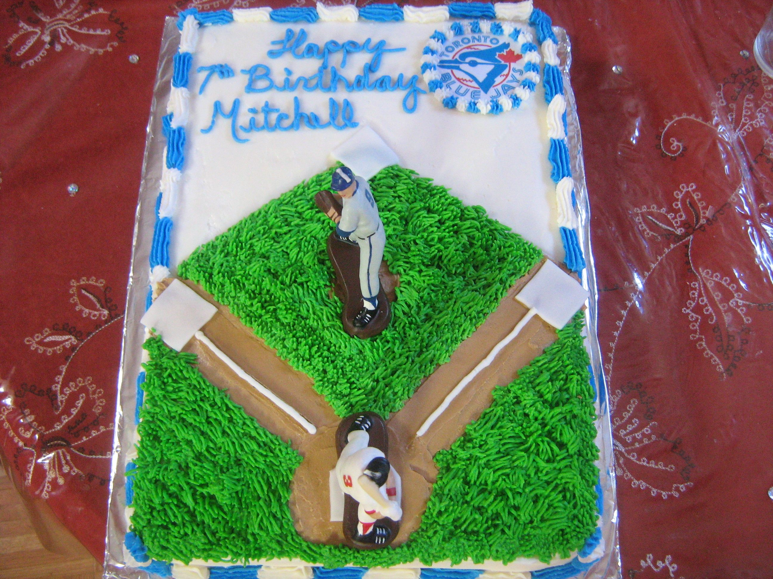Baseball Field Cakes - Decoration Ideas   Little Birthday ...