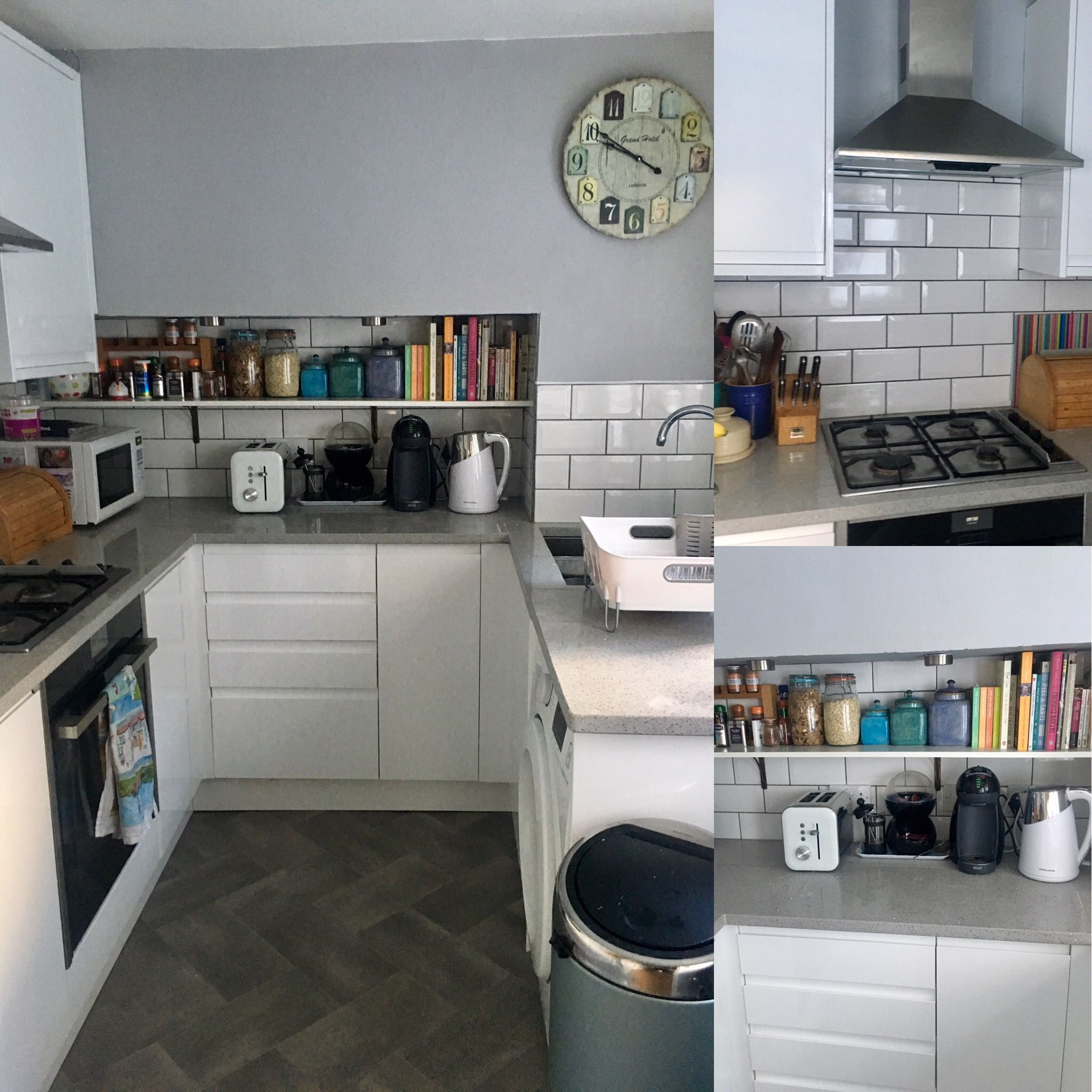 Just had our small kitchen revamped love the fresh and