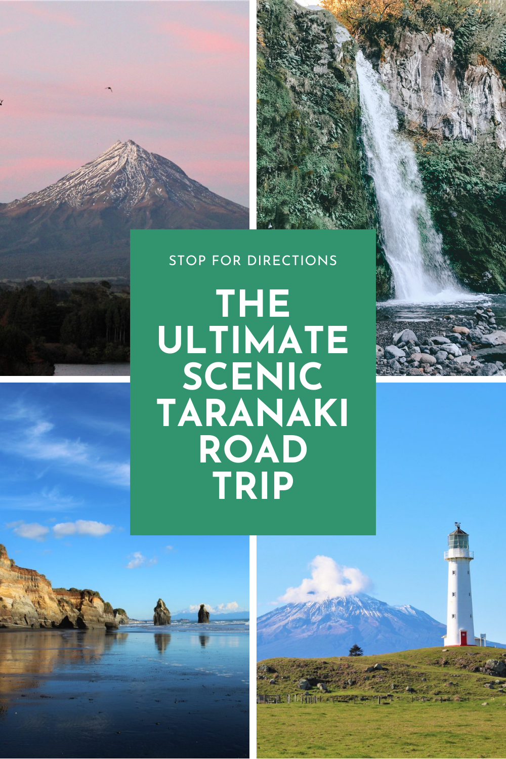 Mt. Taranaki is infamously cloud covered most of the time, so we planned a road trip around finding the best views of the mountain. We discovered some great spots; here's how you can uncover them too… #Taranaki #Mountains #NewZealand #TravelNewZealand #Travel #TravelBlog #TravelBlogger #TravelTips #TravelInspiration #RoadTrip #RoadTripIdea