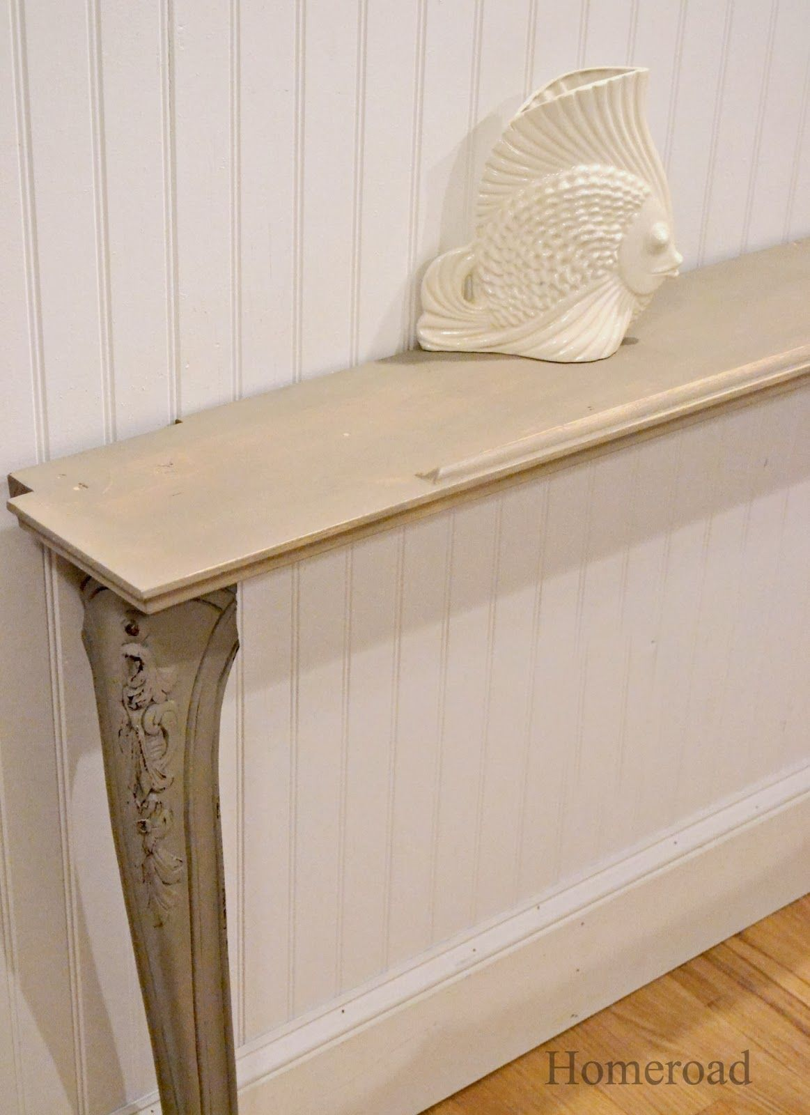 Console Etroite Diy Narrow Wall Or Sofa Table Corner Tv Pinterest
