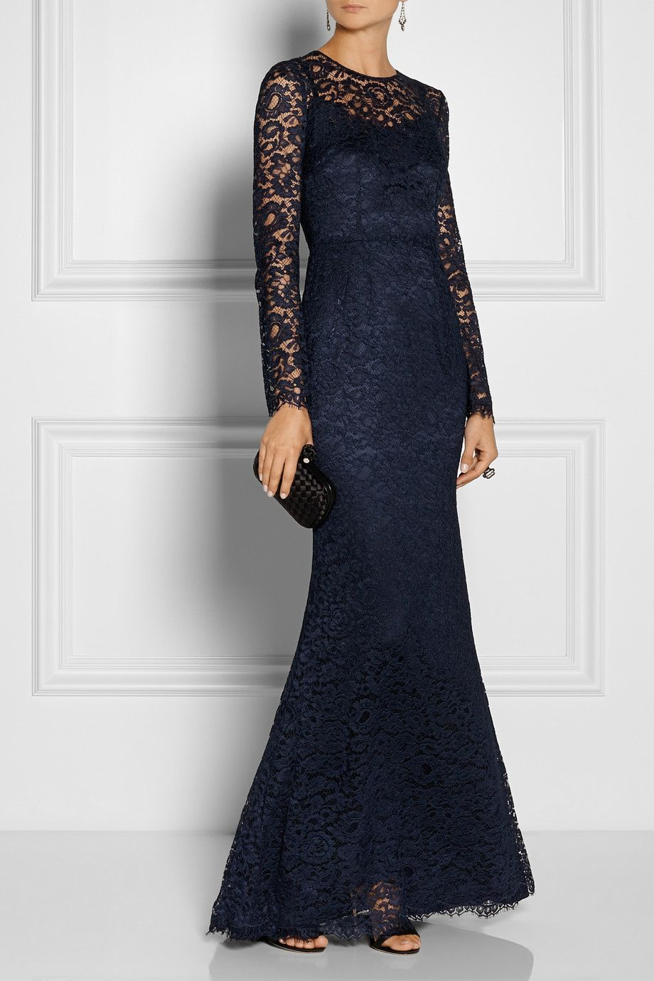 Dolce & Gabbana|Lace gown|NET-A-PORTER.COM