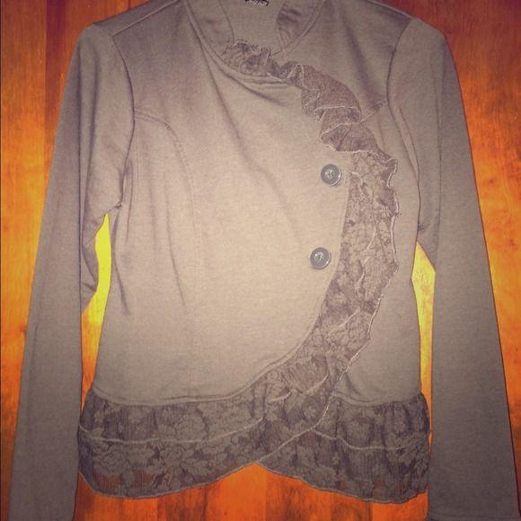 Rue21 jacket. Worn twice As new as the day I got it! Stunning jacket Rue 21 Jackets & Coats