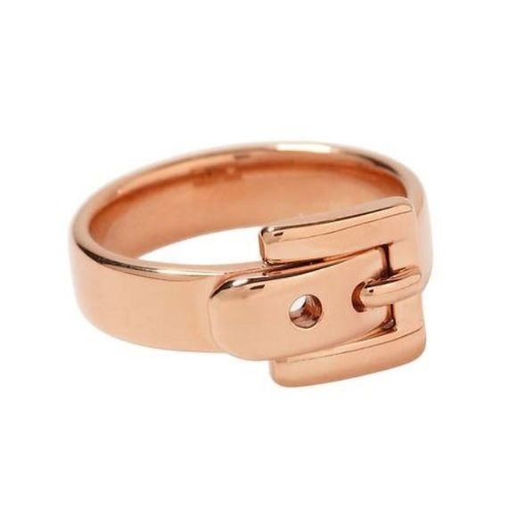 💥SALE 💥 Michael Kors Rose Gold Belt Buckle Ring