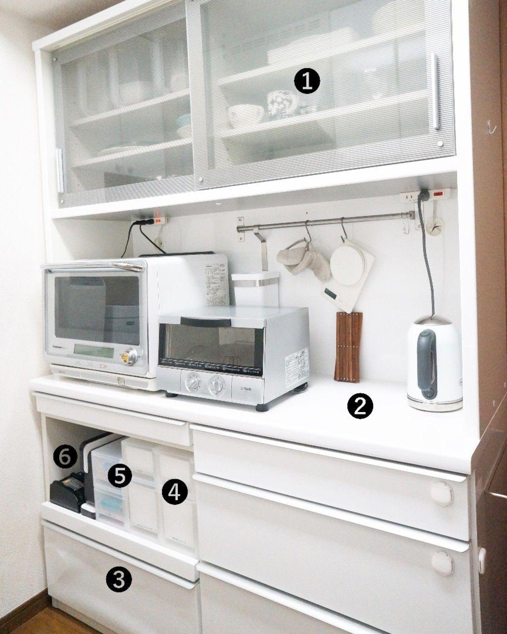 キッチン収納 使いやすい食器棚って わたしがラクする食器棚の収納方法をご紹介 Tv Unit Furniture Kitchen Cabinets Home Decor