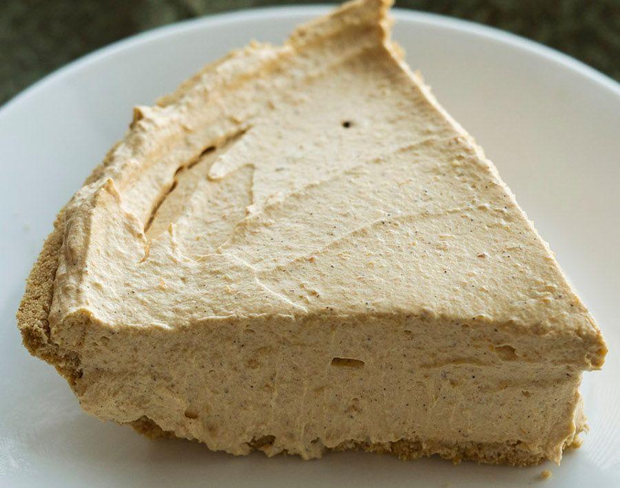 un vrai beau mélange de saison que ce gâteau au fromage et à la