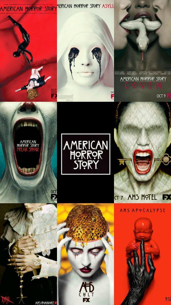American Horror Story Wallpaper Filmek Film Es Bandak