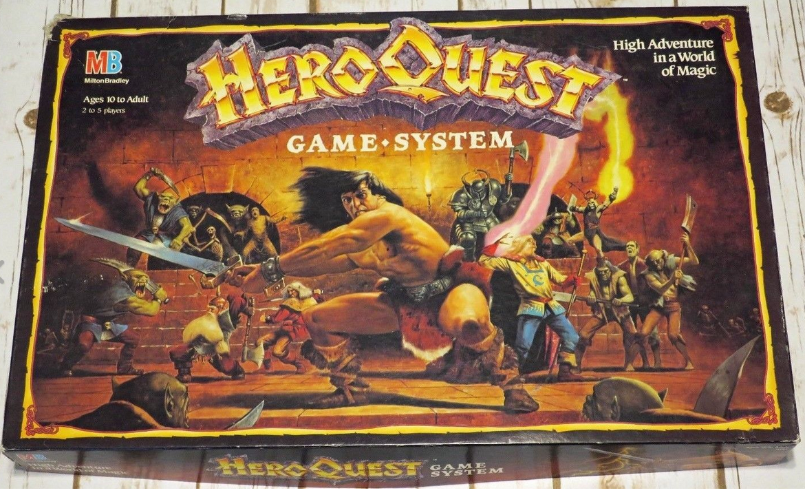 Pin on Heroquest project