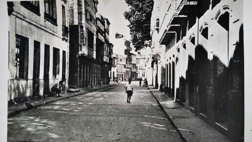 Calle Almirante Moreno. Cedeira.