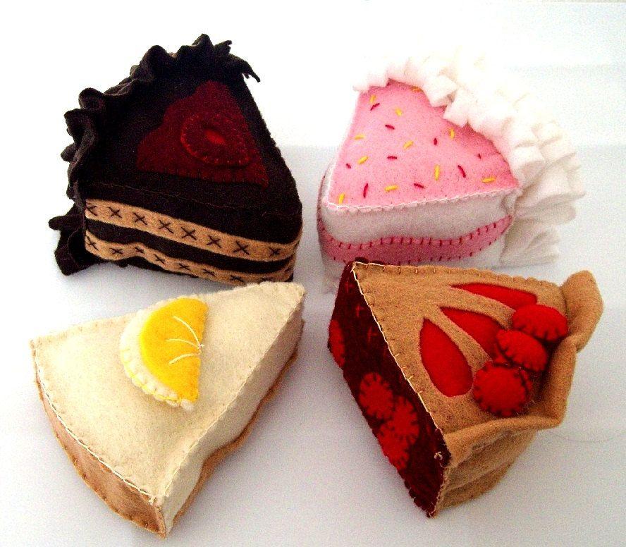 felt cake template printable - Google Search