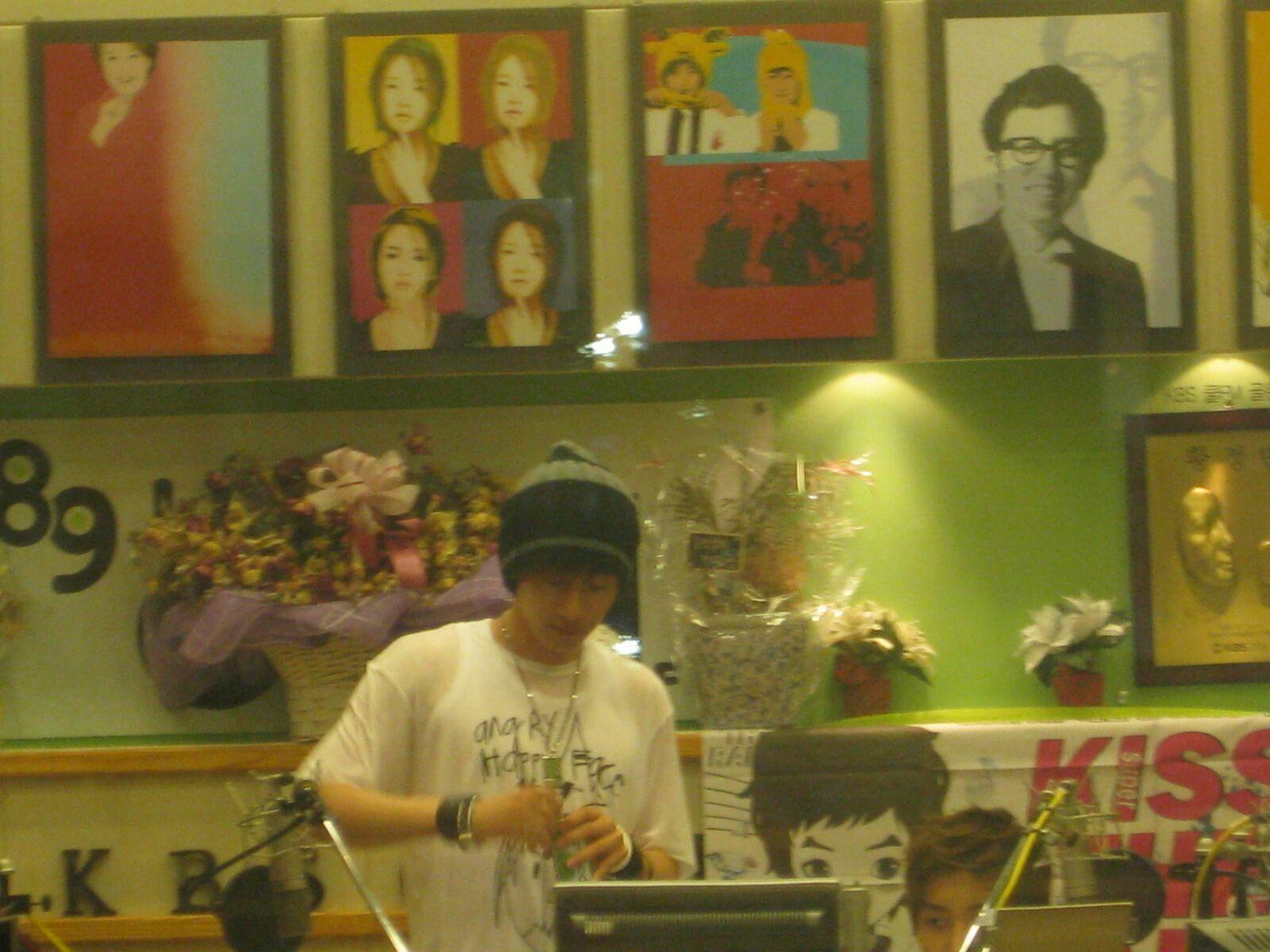 My Voyage - 한국 -  South Korea - Kiss the Radio -  Eunhyuk and Leeteuk