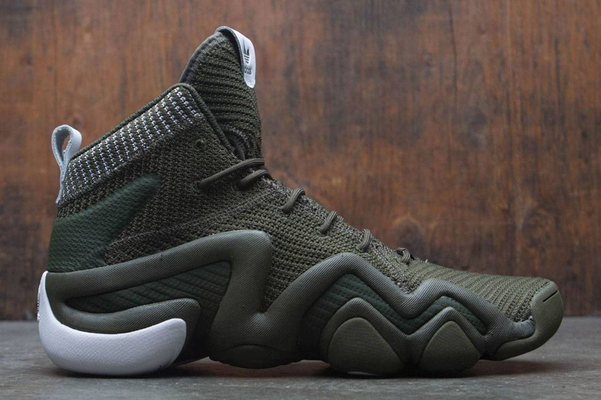 "size 40 05bad 2a0d1 adidas Crazy 8 ADV Primeknit ""Night Cargo Green"""