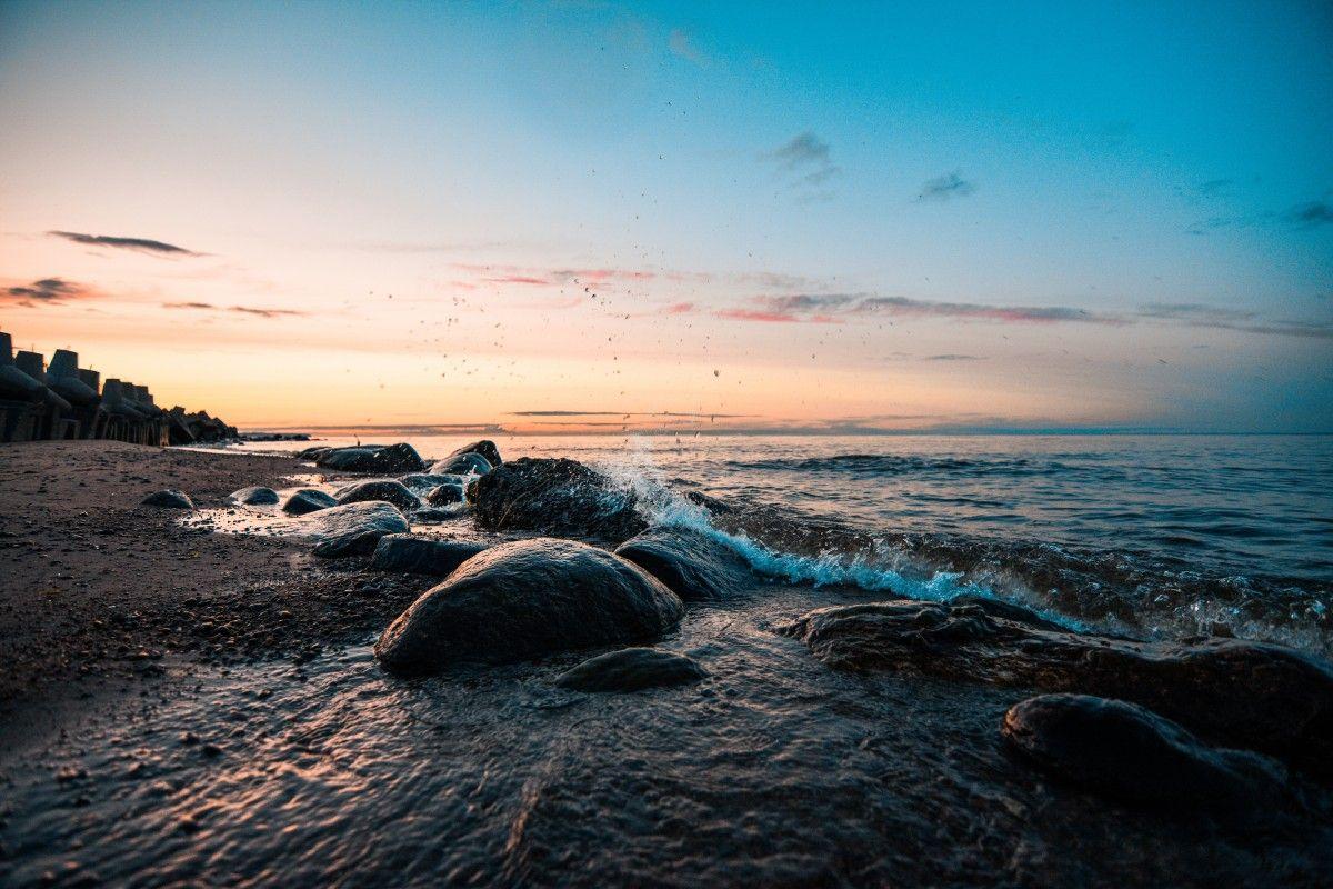 صورة عالية الدقة خالية من المناظر البحرية البحر البحيرة المياه السماء جسد الماء الأفق المحيط Sh Water Photo Outdoor