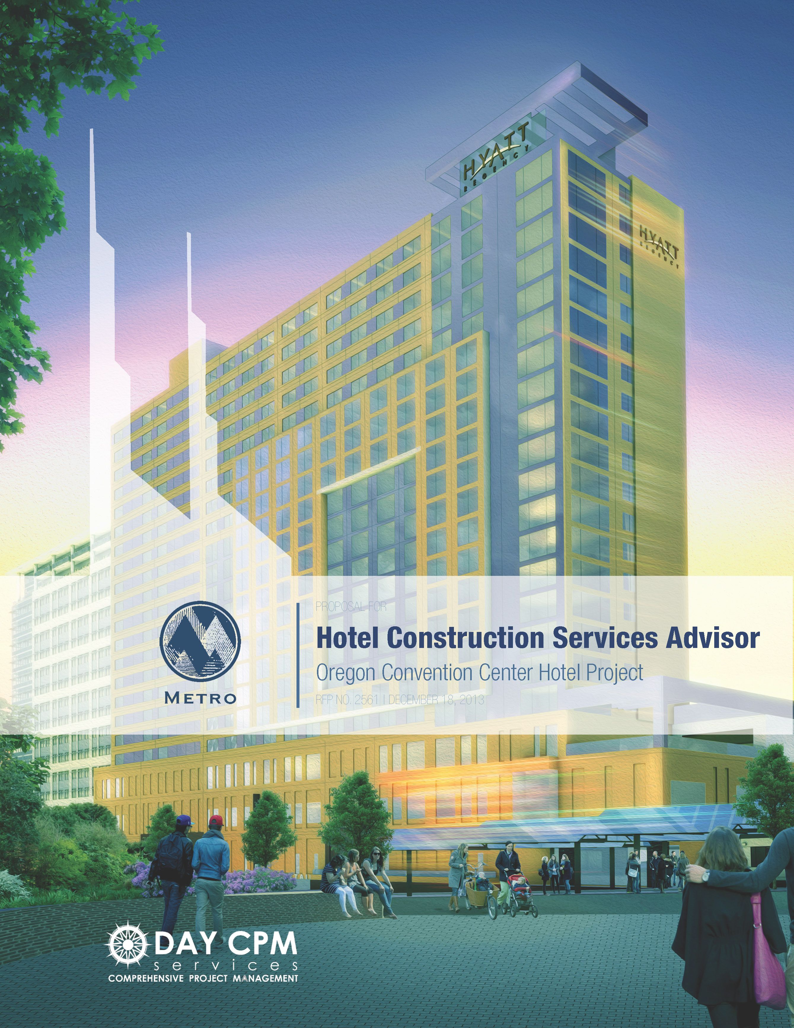 Oregon Convention Center Hotel Proposal Cover  Kk Consulting Work