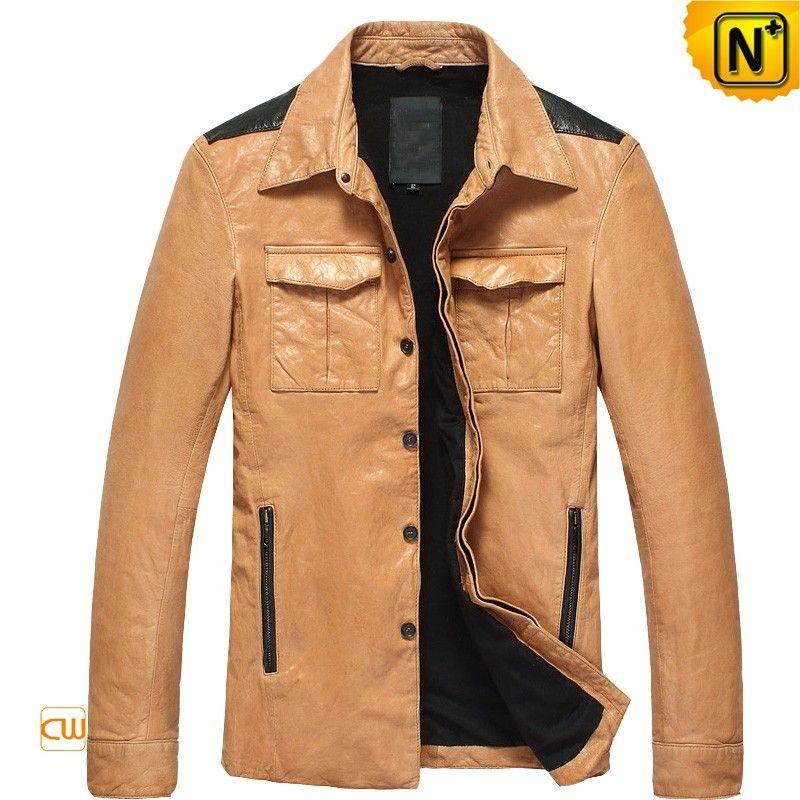 CWMALLS® Designer Italian Leather Jackets CW850122 | Italian ...