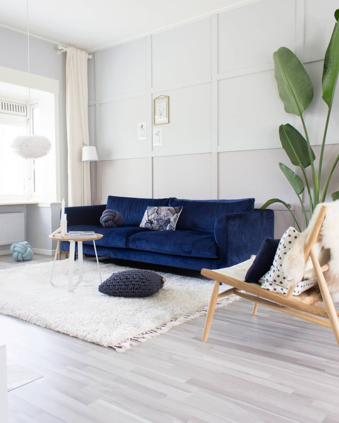 Dark Blue Couch Picture By Juudithhome Blue Sofas Living Room Blue Living Room Decor Blue Couch Living Room