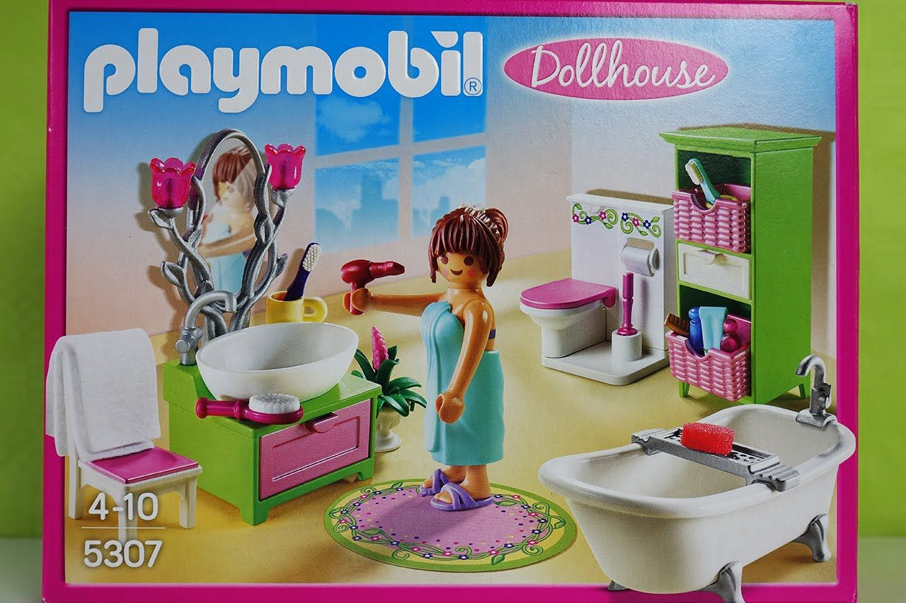 Lego Playmobil Dollhouse Puppenhaus Toys for Kids Playset ...