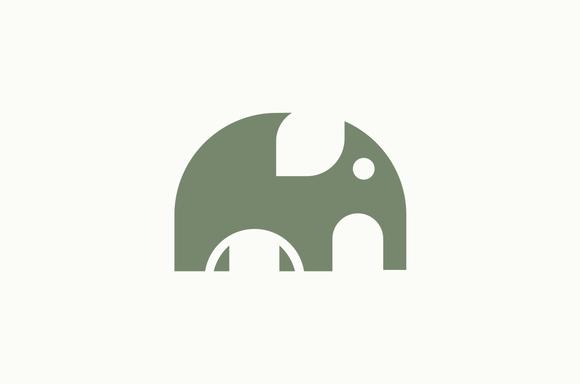 e78f4cd821ab7 Elephant Logo Template by BekBlack on  creativemarket