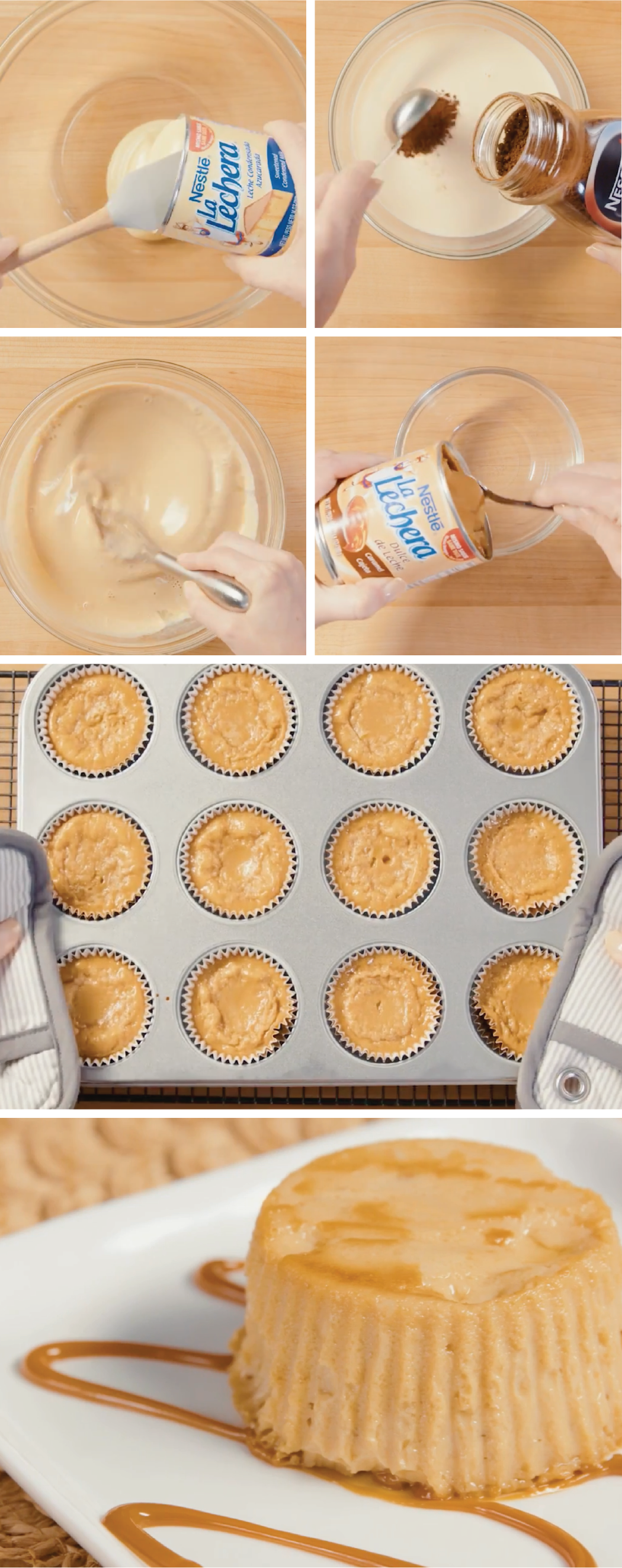 Photo of Coffee Flan Cupcakes
