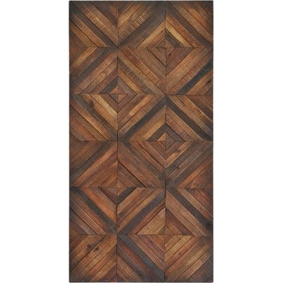 Ren Wil Chevron Stripes Graphic Art Plaque Wood Floor Pattern Wood Patterns Patterned Wall Tiles