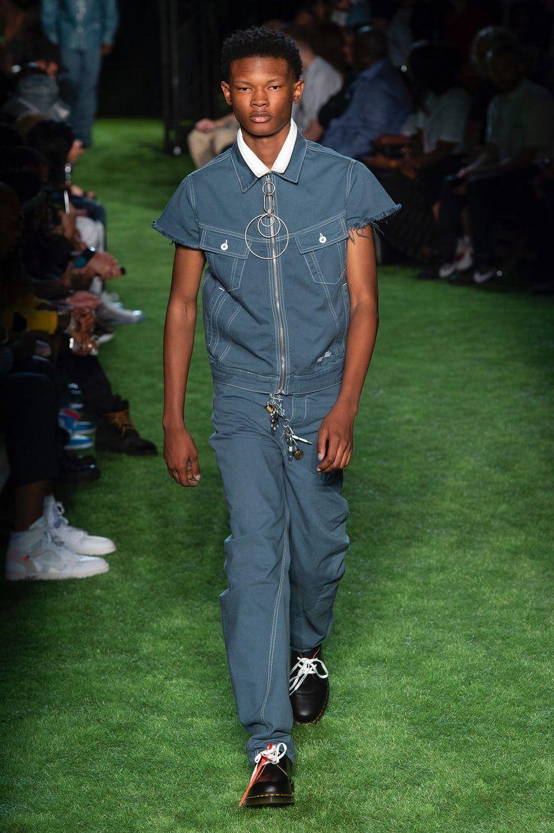 Off White Menswear Ss19 Menswear Mens Fashion Week Mens Tops