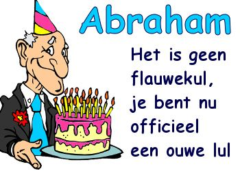 Vaak leuke abraham tekst plaatjes | CARTOON DRAWING - Happy birthday #NP11
