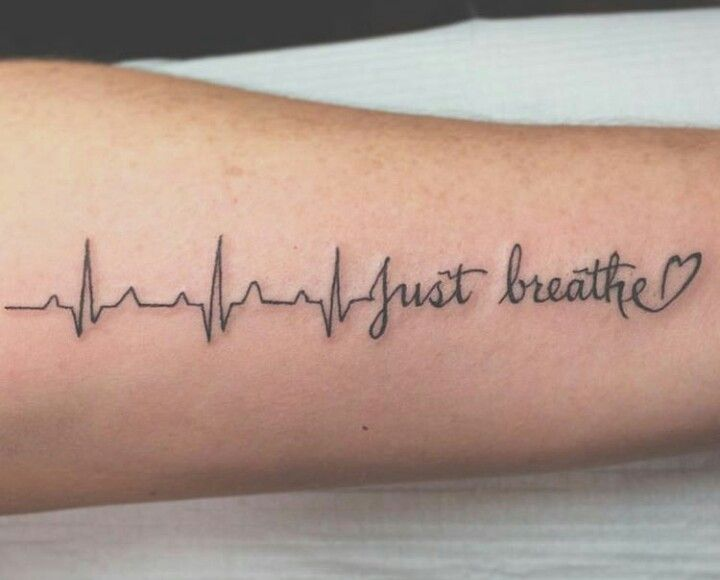 Just breathe tattoo … | tattos |…