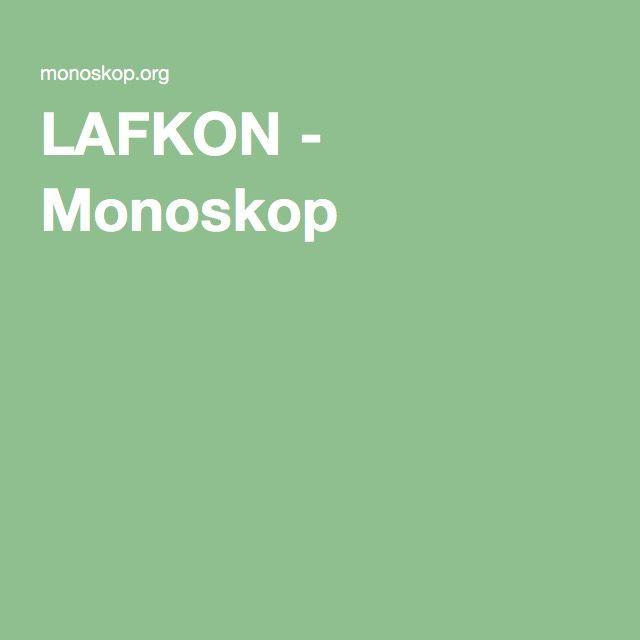 LAFKON - Monoskop