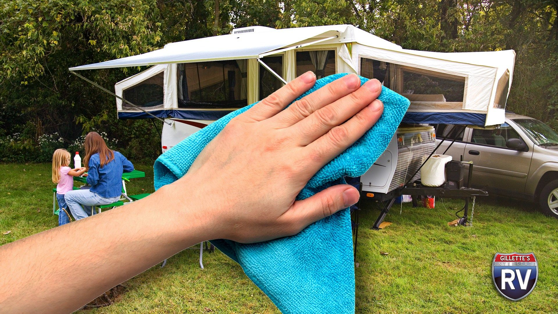Cleaning And Caring For Pop-Up Campers