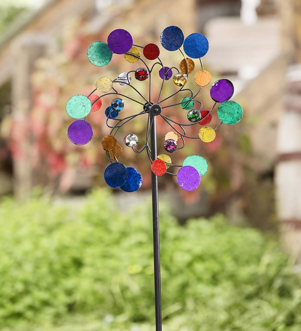 Midi Metal Wind Spinner | Garden Accents | Wind Spinners | Pinterest ...