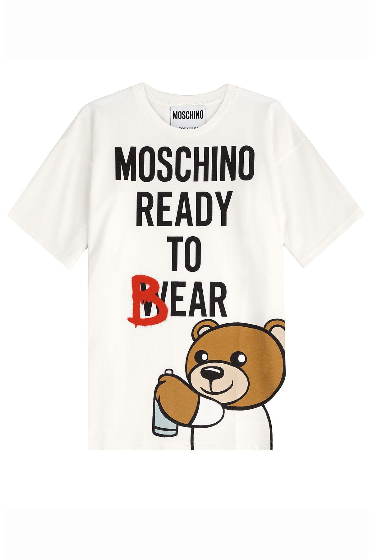 b7bac44eef Moschino Women Teddy Bear Short Sleeve T-Shirts