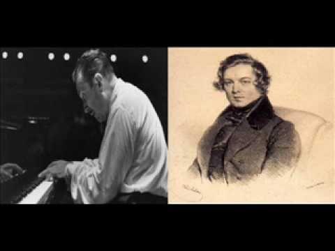 Claudio Arrau Schumann Waldszenen 3 Einsame Blumen Op  82