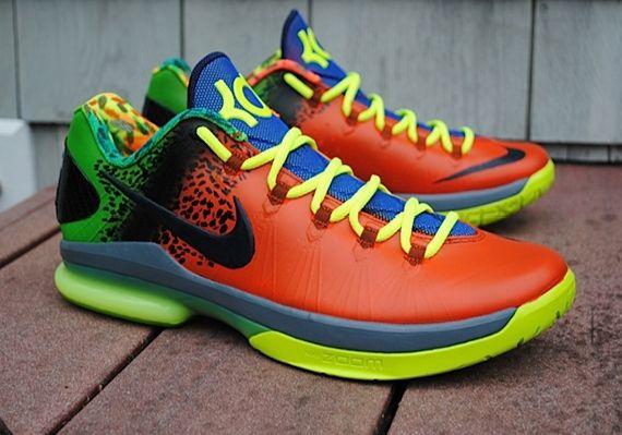 136c742fd3e Online Hot Nike KD 4 Un Nerf Custom Kevin Durant Cheap sale ...