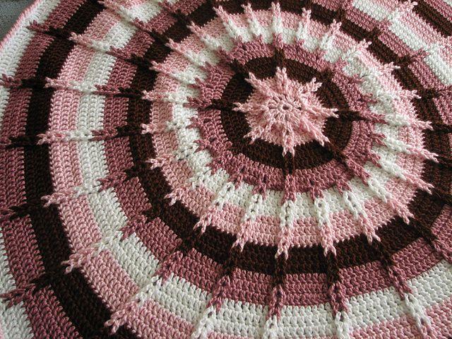 Round Jacobs ladder. Free pattern!   Crafty   Pinterest   Manta ...