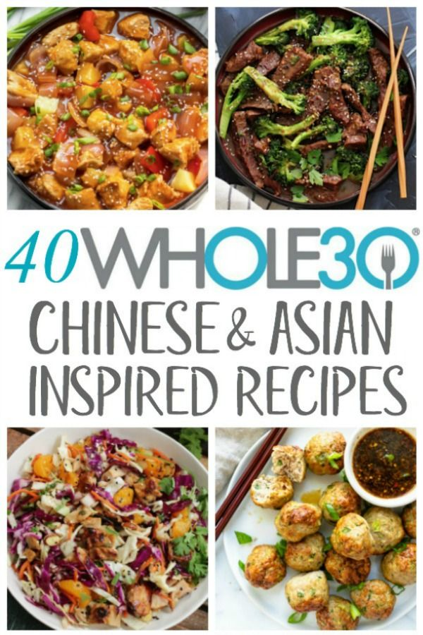 Photo of 40 Whole30 Chinese & Asian Inspired Recipes: Paleo, Low Carb, Gluten Free Recipes – Whole Kitchen Si