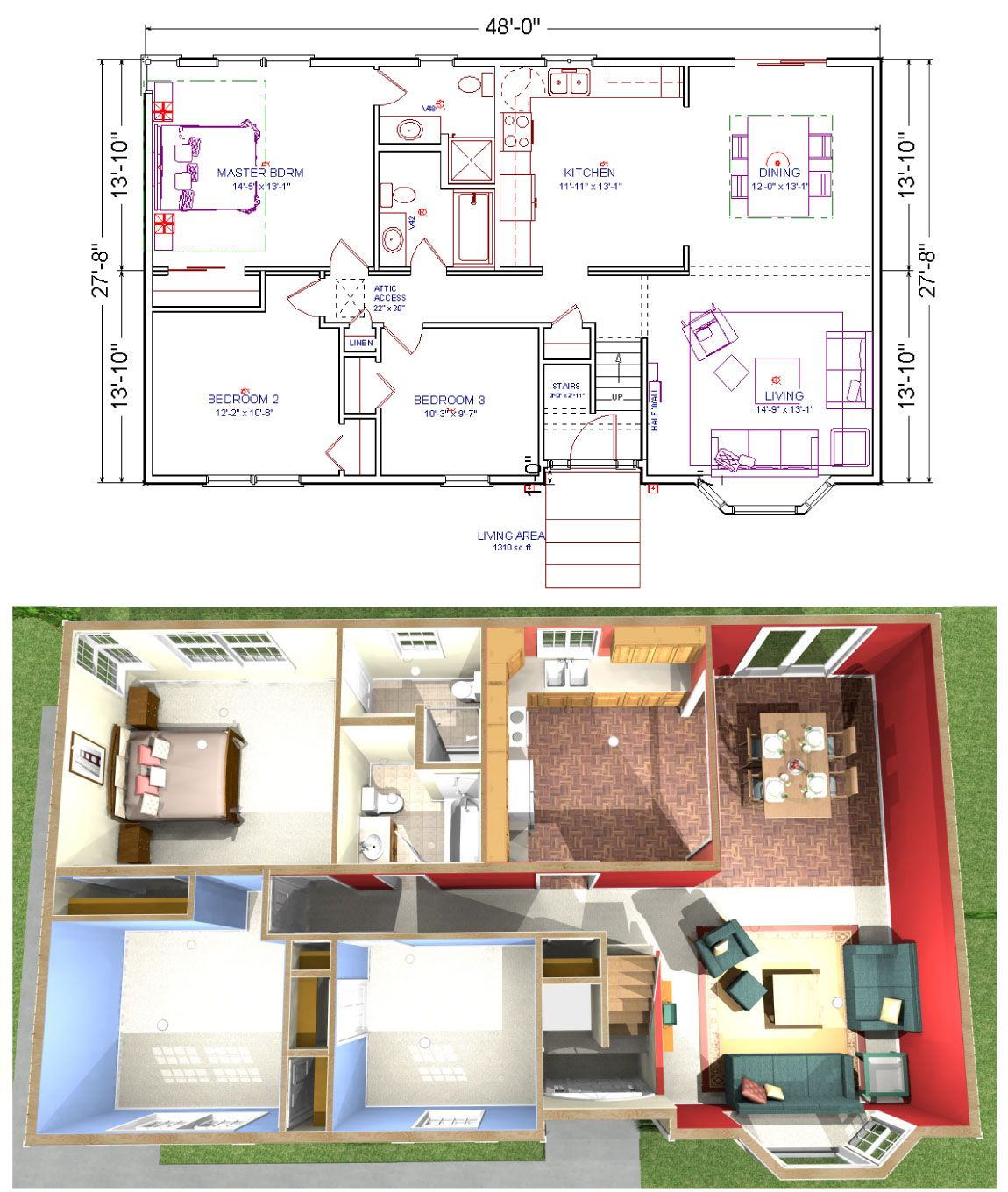 Raised Ranch House Plans Floor Plans Redone House Floor Plans Remodeling Floor Plans Basement House Plans