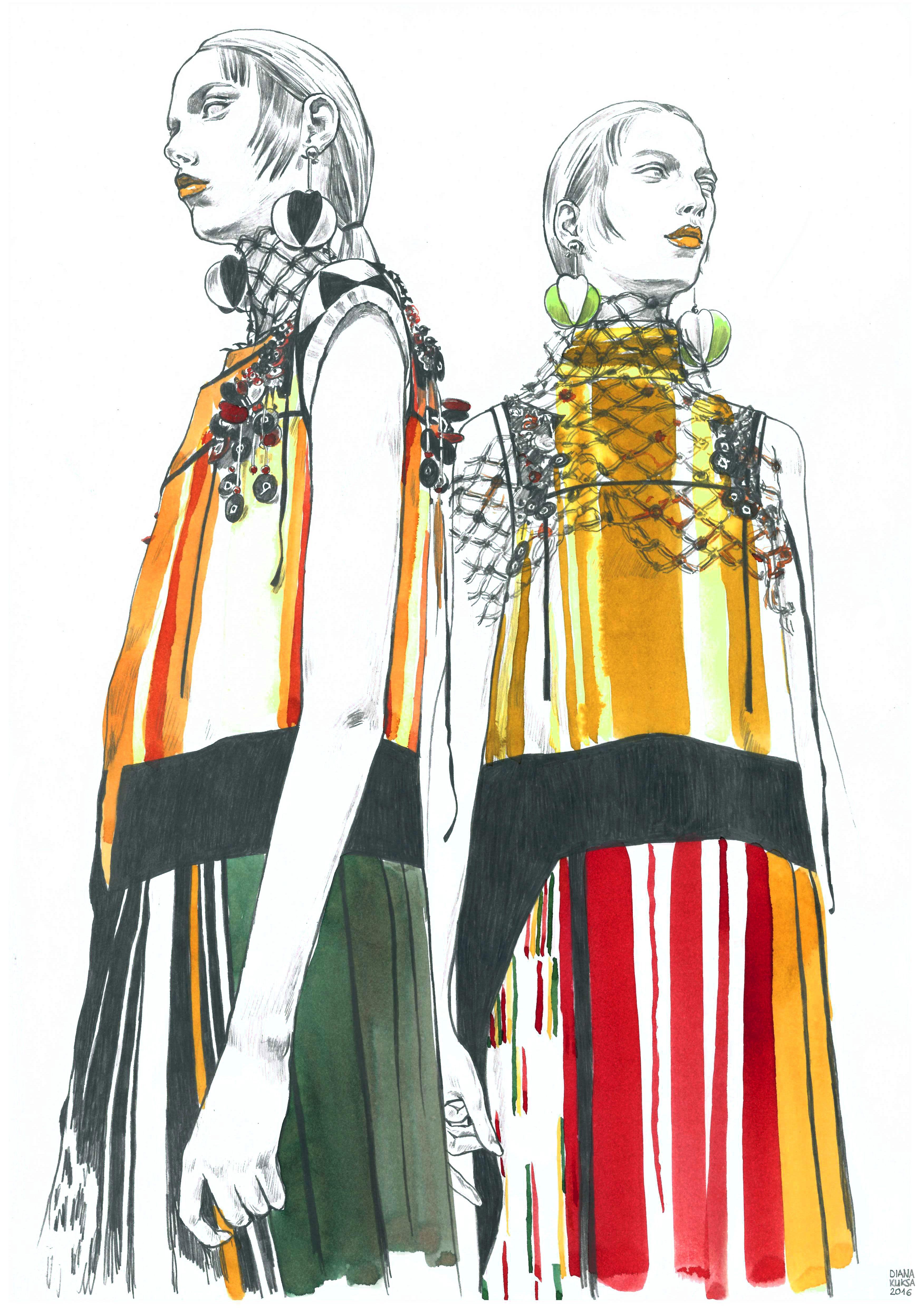 Fashion Design: Fashion Illustration. Fast Sketches, Daily Sketches